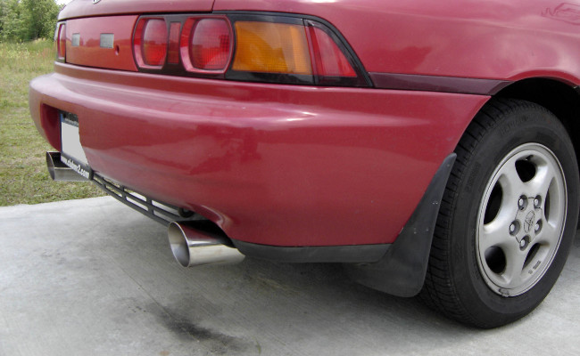 MR2 right rear corner