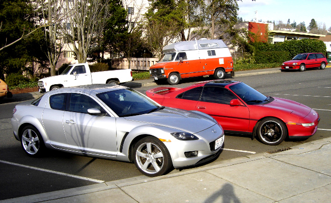 MR2 and RX-8